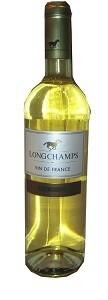 LONGCHAMPS VIN DE FRANCE BLANCH WHT750ML