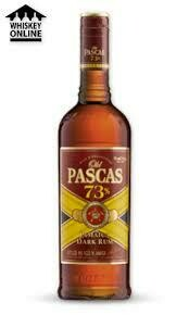 OLD PASCAS BARBADOS SPICED RUM 700ML