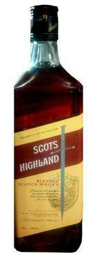 SCOTS HIGHLAND BLENDED SCOTCH WHISKY 75CL
