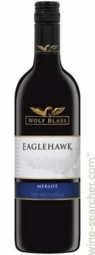 WOLF BLASS EAGLEHAWK MERLOT 750ML