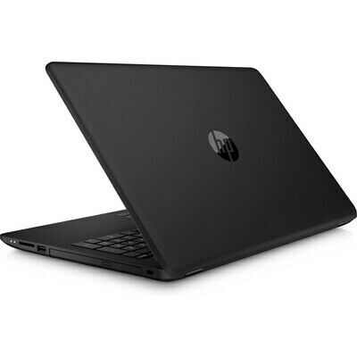 HP 15 CELERON / 4GB /  500GB 15.6  W10  BLACK