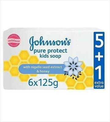 JOHNSON'S GENTLE PROTECT KIDS SOAP 120G