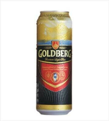 GOLDBERG PREMIUM LAGER BEER CAN 33CL