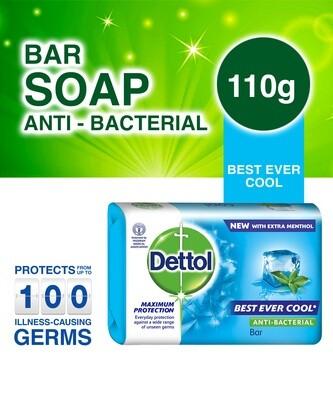 DETTOL ANTIBACTERIAL SOAP COOL 110G