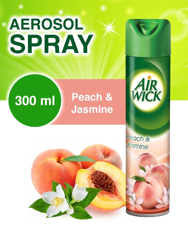 AIR WICK 2IN1 PEACH&JASMINE A/F 300ML
