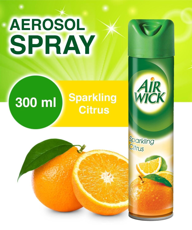 AIRWICK 2IN1 A/F SPARKLING CITRUS 300ML