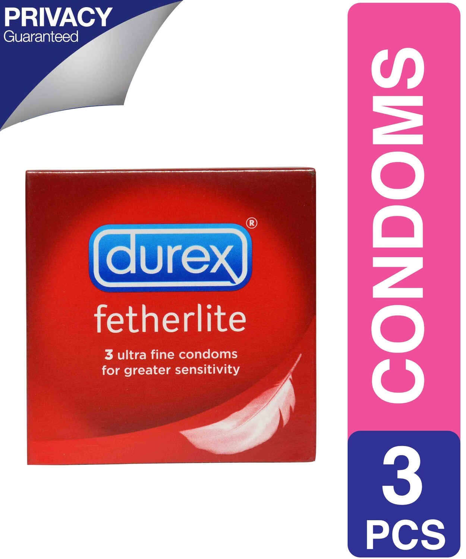 DUREX ELITE CONDOMS FETHERLITE SENS 3'S