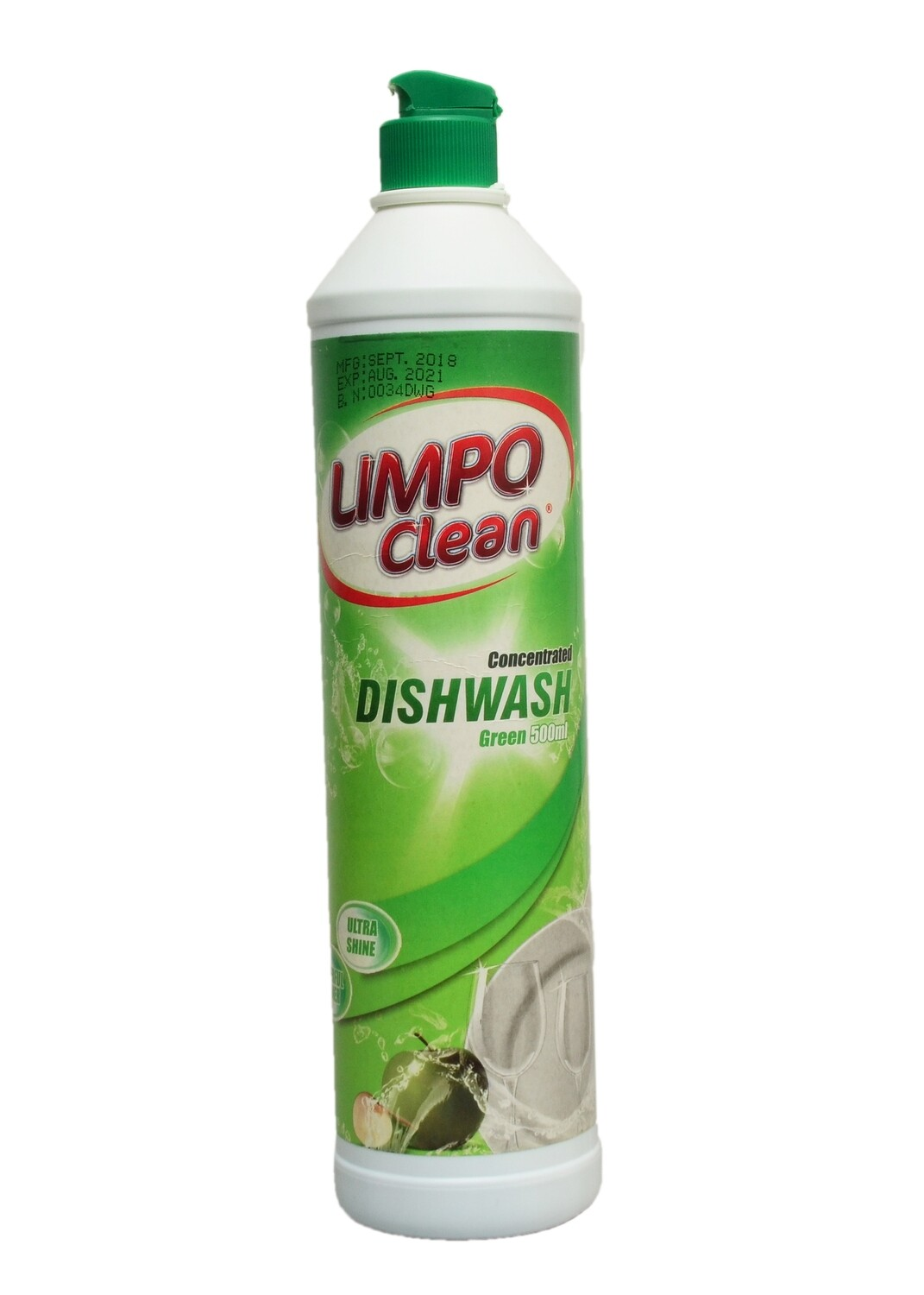 LIMPO CEAN CONCEN DISHWASHER GREEN 500ML