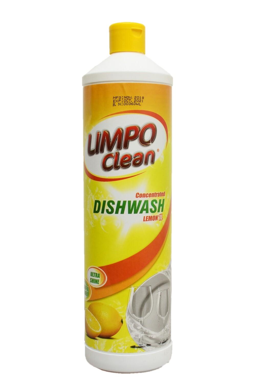 LIMPO CLEAN CONCENTRATED DISHWASH LEMON 1L