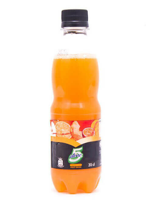 5 ALIVE TROPICAL FRUIT DRINK PET 35CL