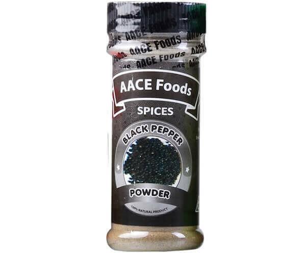 AACE FOODS +C2:C29BLACK PEPPER 70G