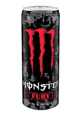 MONSTER FURY ENERGY DRINK CAN (RED) 440ML