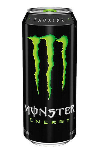 MONSTER ENERGY CAN DRINK (GREEN) 440ML