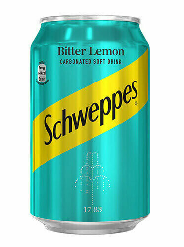 SCHWEPPES BITTER LEMON CAN 33CL