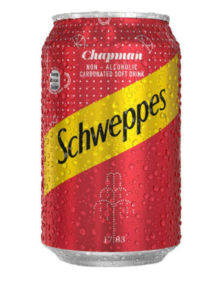 SCHWEPPES CHAPMAN 33CL CAN