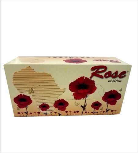 BOULOS ROSE OF AFRICA FACIAL TISSUES 120X2PLY