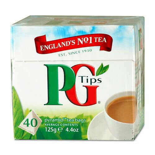 PG TIPS 40 TEA BAGS 116G