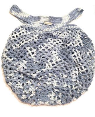 Crocheted Cotton Mesh Market Bag
