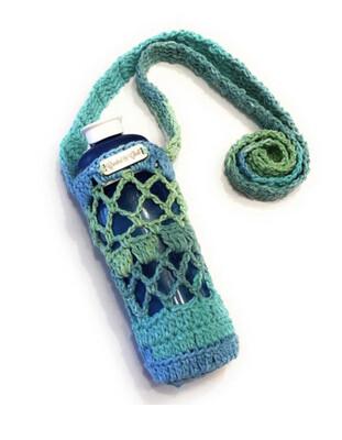 Crocheted Mesh Water Bottle Holder, Made To Order