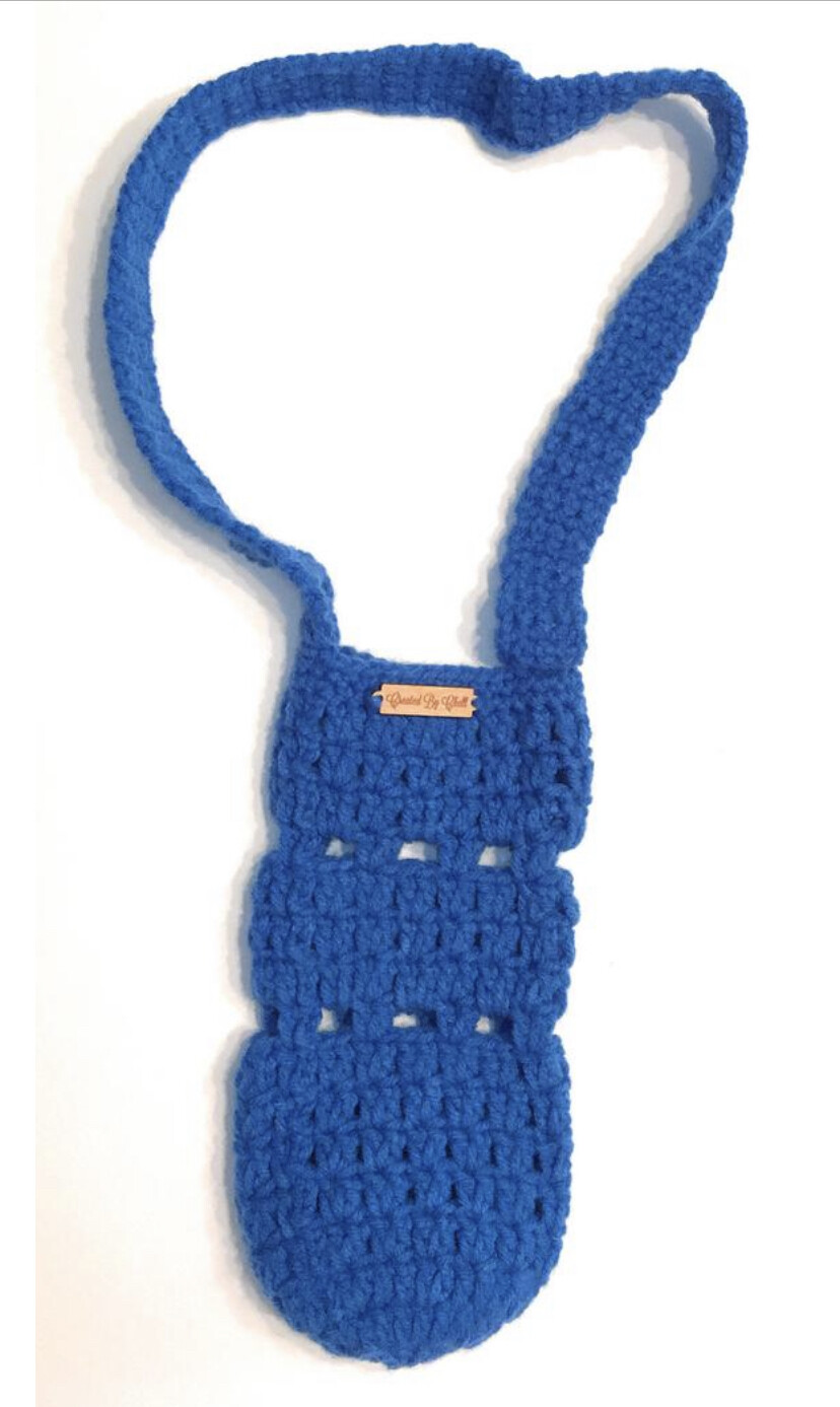Crocheted Water Bottle Holder MADE TO ORDER