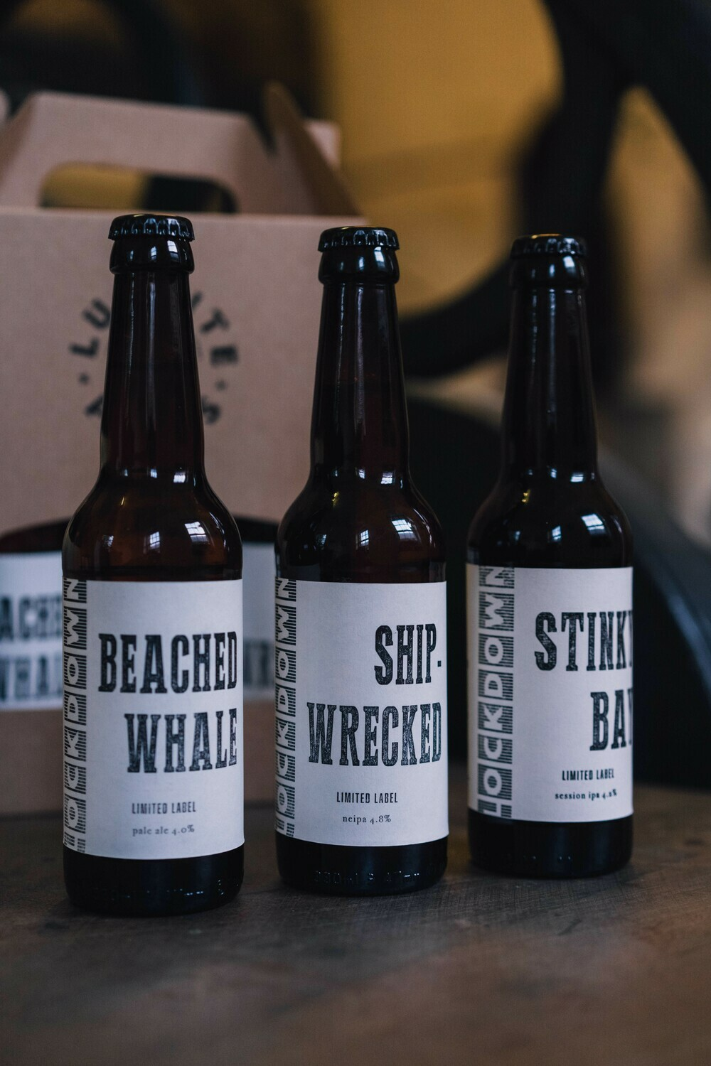 Limited Edition gift packs by The Luddite Press