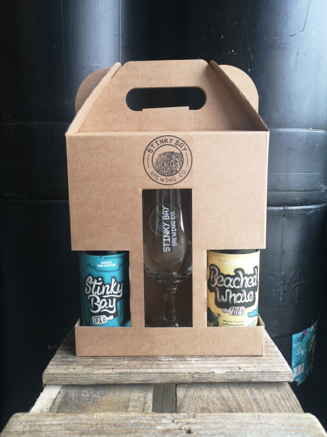 Gift Packs - 2 bottles and a glass