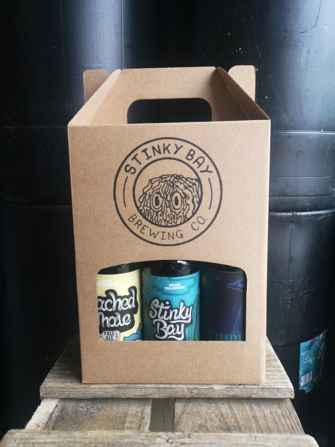 Gift pack - Mix of 6 beers
