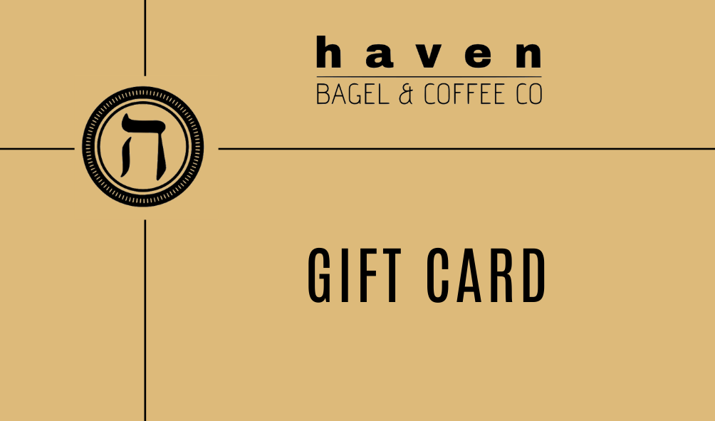 Haven Bagel & Coffee Gift Card