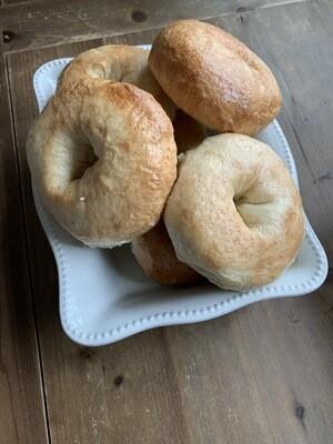 Plain Bagels (Wholesale)