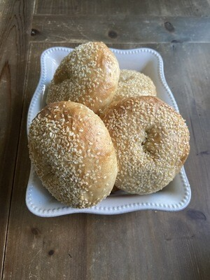 Sesame Seed Bagels (Wholesale)