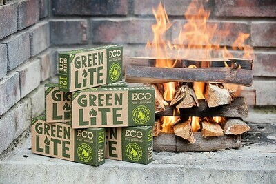 GREEN ECO FIRE LIGHTERS