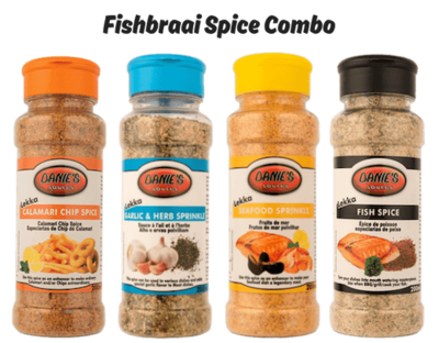 Fishbraai Spice Combo (Pack size: 4 x 200g)