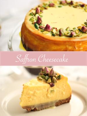 Saffron Cheesecake