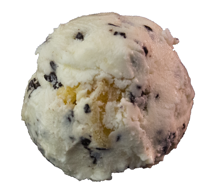 Orange and Chocolate Ice Cream