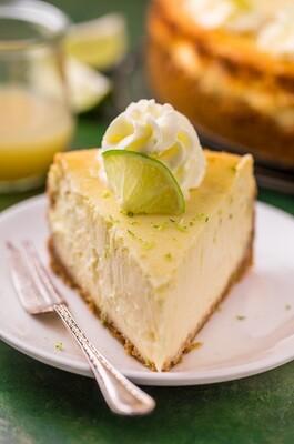 Vegan Key Lime cheesecake