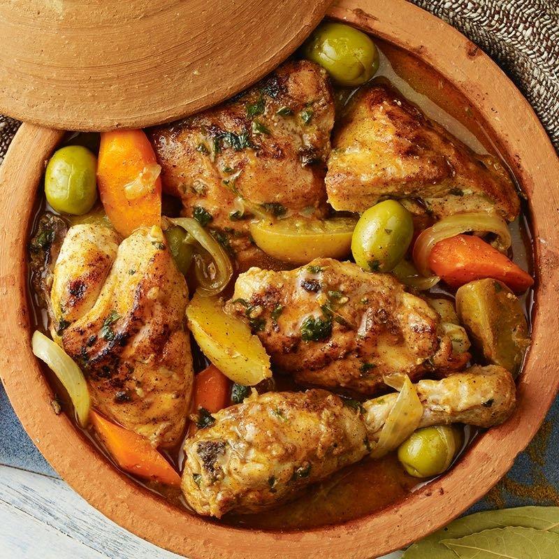 Chicken and Preserved Lemon Tagine *