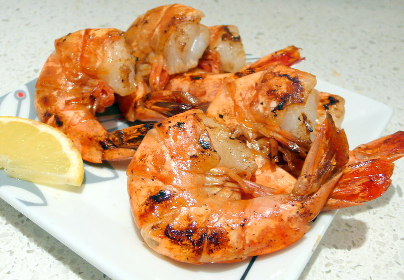 Chargrilled Jumbo Gulf King Prawns