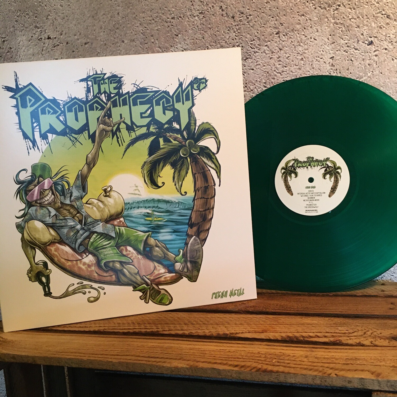FRESH METAL - LP green vinyl