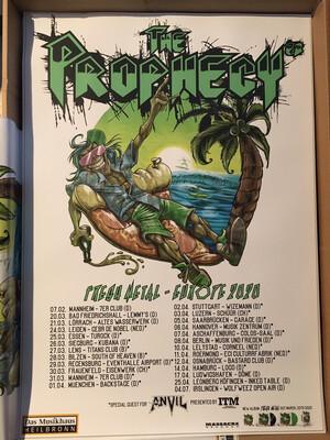 Tour Poster 'Fresh Metal Europe 2020' *gratis*
