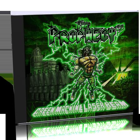 CD 'Green Machine Laser Beam'