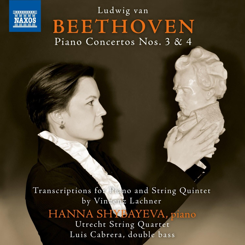 L.VAN BEETHOVEN/V.LACHNER: PIANO CONCERTO'S No.3&4 (arr. piano/string quintet)