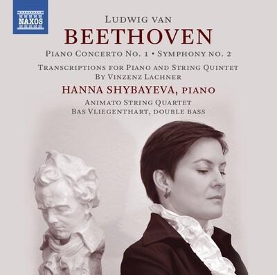 L.VAN BEETHOVEN/V.LACHNER: PIANO CONCERTO No.1/SYMPHONY No.2 (arr. piano/string quintet/piano trio)