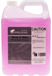 ******* GRSW ******* Green Rhino Spray n Wipe Multipurpose Cleaner - 5 & 20 Litres Available