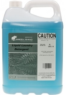 ******* GRLLD ******* Green Rhino Liquid Laundry Detergent - 5 & 20 Litres Available