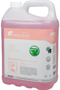 ** GRPLHS-ENVIRO ** Green Rhino ENVIRO Pink Liquid Hand Soap, Perfumed, BIODEGRADABLE - 5, 20 & 200 Litres