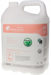 * GRWLHS-ENVIRO * Green Rhino ENVIRO White Liquid Hand Soap, Perfumed, BIODEGRADABLE - 5 & 20 Litres Available