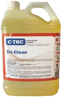 ******** CATGW ******** C-Tec Tri-Clean Automatic and Manual Glass Wash - 5 Litres
