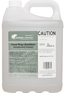 ******* GRFPS ******* Green Rhino Food Prep Sanitiser - 5 & 20 Litres Available