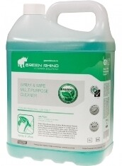 *** GRSW-ENVIRO *** Green Rhino ENVIRO Spray n Wipe, BIODEGRADABLE - 5 & 20 Litres Available