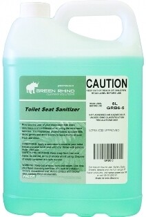 ****** GRTSSS ****** Green Rhino Toilet Seat Sanitiser Spray - 5 Litres
